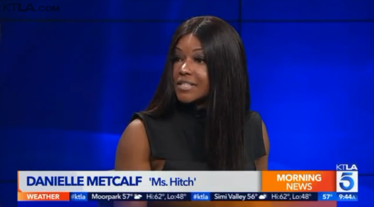Ms. Hitch at KTLA